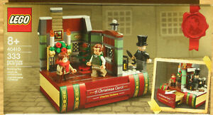 LEGO Charles Dickens Tribute 40410 A Christmas Carol limited promo new sealed