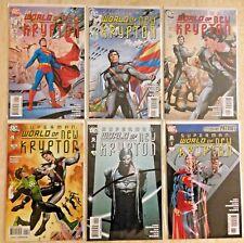 SUPERMAN: WORLD OF NEW KRYPTON (2009) 1-12   PLUS 1987 WORLD OF KRYPTON 1-4