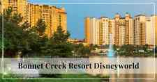 WYNDHAM BONNET CREEK Resort OCTOBER 16TH **3 NIGHTS** 2 BR Deluxe Villa /2B
