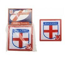 ANGLETERRE Croix De St George Football Badge à glisser Carreau Puzzle