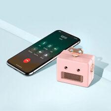 Mini Portable Wireless Bluetooth Speaker Cute Retro Music Box For Apple Samsung
