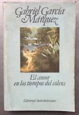 Gabiel García Márquez - El amor en los tiempos del cólera - Primera edición