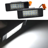 For MERCEDES BENZ SPRINTER VITO VIANO NUMBER PLATE LED LAMP LIGHT 2 PIECES lg