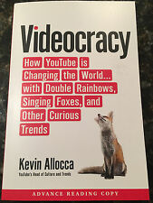 Videocracy: How YouTube Is Changing the World by Kevin Allocca ARC NEW!! GOOGLE
