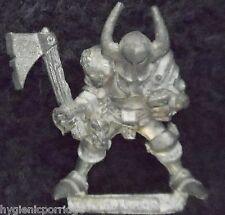 1988 GUERRIERO Caos di Khorne 0217 06 Citadel Warhammer Esercito Orde EVIL FIGHTER