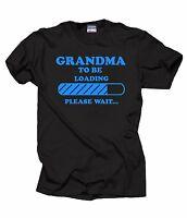 Gift For Grandmother T-Shirt Grandma To Be Tee Shirt Baby Announcement Shirt
