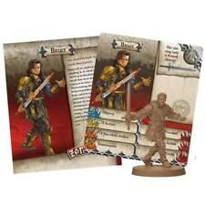 Zombicide: Black Plague - Bruce Promo mini + card + bases Game Night Kit #1