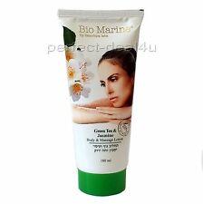 GREEN TEA & JASMINE Body Massage Lotion Cream Dead Sea Bio-Marine 180ml-6oz