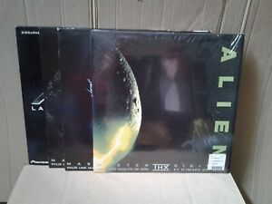 Laserdiscs lot de 4 films - Alien
