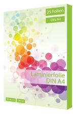 25 x laminierfolien din a4 80 micrón laminiertasche laminierfolie din a4