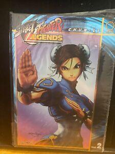 Street Fighter Legends Chun Li Book