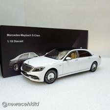 Mercedes Maybach S-Class 2019 White ALMOST REAL 1/18 #820111
