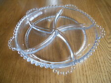 Imperial Glass-Ohio Candlewick Clear 5 Part Relish Dish