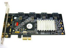 SINTECH 1X PCI-E 4-Ports SATA Raid Controller Converter card SIL3124