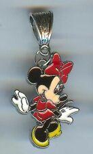 MINNIE MOUSE Dancing fits European Charm Bracelets, Slide, Clip, Clasp - E133