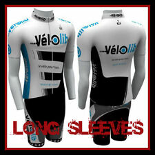 TeamEight CYCLING JERSEY LONG SLEEVES + SHORTS KNICKS