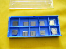10 INDEXABLE CARBIDE TOOL INSERTS VALENITE SNG 322