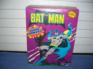 Vintage 1984 MPC Super Powers Batman Model Kit # 1-1702