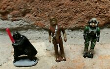 Star Wars Micro Machines Action Chewbacca Darth Vader A-WING Pilot Figure lot dc