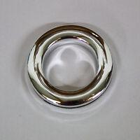 Curtain Eyelet Rings - Chrome Colour