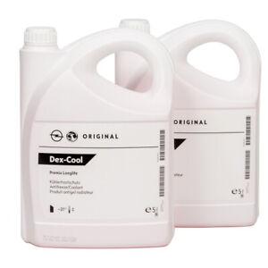 ORIGINAL GM Opel Frostschutz Kühlerfrostschutz DEX-COOL Premix Longlife 10-Liter