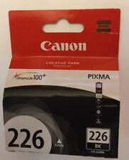 Genuine Canon Pixma CLI-226BK 226 Black Printer Ink Cartridge Chromalife  New