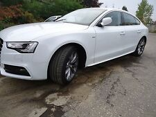 AUDI A5 S5 RS5 SPORTBACK  S-LINE SIDE SKIRTS TUNING NEW !!!