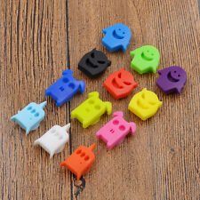 12 Pcs Cartoon Wine Glass Charms Silicone Label Markers Reusable Party Wedding