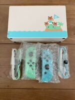 Dock & Joycon ONLY w/o Console Nintendo Switch Animal Crossing New Horizons