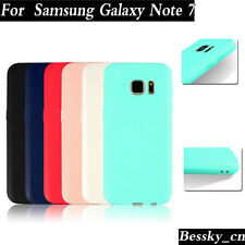 For Samsung Galaxy Note 7 Soft Scrub Rubber TPU Case Cover Stylish Case NEW
