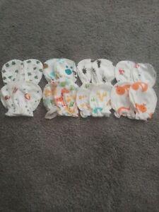 8 Pairs of Baby Mittens