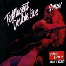 "TED NUGENT ""DOUBLE LIVE GONZO"" 2 CD NEU"