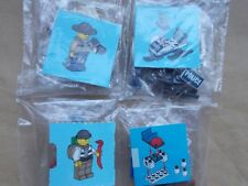 NEW LEGO CITY CHRISTMAS SCENE- POLICE SNOWMOBILE CHASE COP ROBBER SNOW CATAPULT