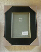 "Prinz Picture Frame Black Wood Solid Holds 5"" x 7"" Photo New"