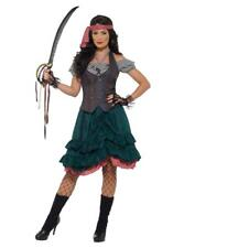 Adult Lady Pirate Wench Fancy Dress Party Costume