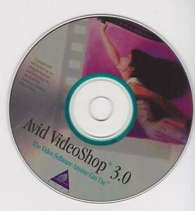 Vintage 1995 Avid VideoShop v.3.0 For Apple Mac OS 7.x - OS 9.x Installation CD
