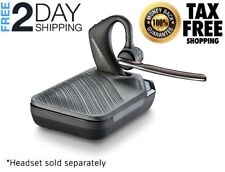 Voyager 5200 Plantronics Bluetooth Headset Case Only Ear Charge Headsets Black