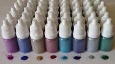 8 x 5ml FINE GLITTER PUFFER BOTTLES .08 tattoos face painting nail art festival