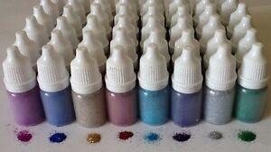 8 x 5ml FINE .08 GLITTER PUFFER BOTTLES tattoos face painting nail art festival