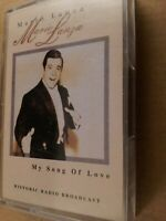Mario Lanza : My Song Of Love : Vintage Cassette Tape Album from 1996