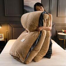 Flannel Fleece Winter Duvet Cover Magic Fleece Quilts Cover Bedding Cover Velvet
