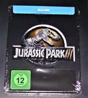 Jurassic Parc 3 Limitée steelbook Édition blu ray Expédition Rapide Neuf & Ovp
