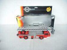 Gama 1/43 Scale Model Fire Engine 2604 - Magirus Deutz - Feuerwehr DL23-12 M BOX