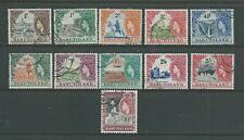 Basutoland SG43-53 1954 Definitives Fine used