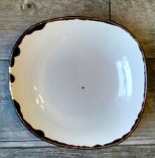 Dudson Harvest Wobby Bowl Natural 46 oz Vitrified Tableware Restaurant ware 11""