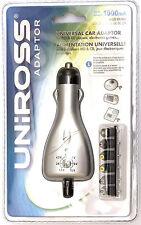 Alimentatore Universale da Auto - Uniross U0151863 - 3-12V/1000mA/12W