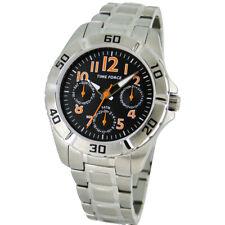 TIME FORCE TF-4133B12M  RELOJ CADETE MULTIFUNCION ACERO 50M