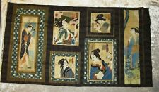 ORIENTAL TRADITIONS GEISHA PANEL BY ROBERT KAUFMAN ~NEW