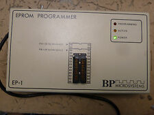 BP microsystems EP-1 eprom programmer w/ manual (2*H-46)