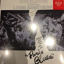DUKE ELLINGTON feat LOUIS ARMSTRONG 'Paris Blues' New Grey Vinyl LP - BRAND NEW